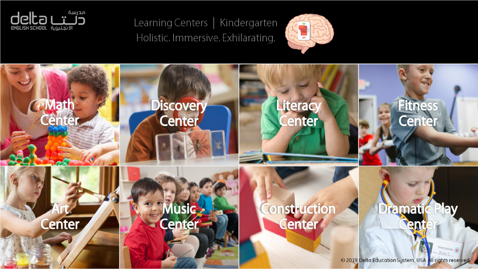 Kindergarten Learning Centers